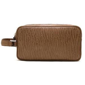 本革 セカンドバッグ バッグ メンズ シール ブラウン CRAB261 BRW Leather