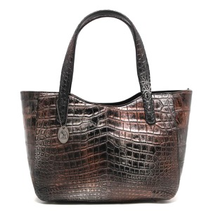 本革 トートバッグ バッグ レディース クロコ アンティークカッパー CRB504 ANCO Leather