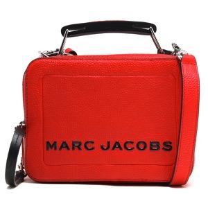 マークジェイコブス ショルダーバッグ/ハンドバッグ バッグ レディース ザ テクスチャード ボックス 20 ゲラニウムレッド M0014840 612 2019年春夏新作 MARC JACOBS