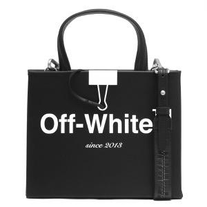 オフホワイト ハンドバッグ/ショルダーバッグ バッグ レディース ボックス ミニ ブラック&ホワイト OWNA059S197190881001 OFF-WHITE