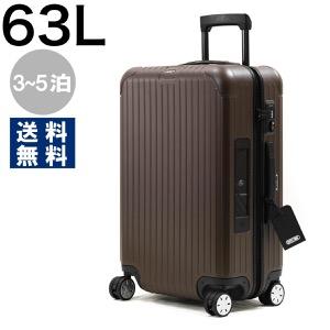 リモワ スーツケース/旅行用バッグ バッグ メンズ レディース サルサ ELECTRONIC TAG 63L 3〜5泊 ブロンズブラウンマット 811.63.38.5 RIMOWA