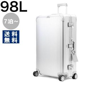 リモワ スーツケース/旅行用バッグ バッグ メンズ レディース トパーズ 98L 7泊〜 シルバー 923.77.00.4 RIMOWA