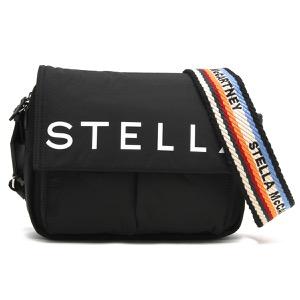 ステラマッカートニー ショルダーバッグ バッグ メンズ レディース ステラ ロゴ ブラック 594250 W8580 1000 STELLA McCARTHNEY
