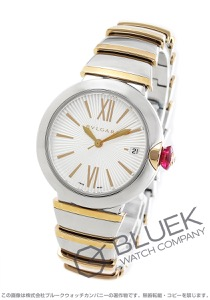 ブルガリ ルチェア ダイヤ 腕時計 レディース BVLGARI LU36C6SSPGD