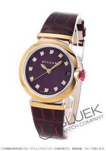ブルガリ ルチェア ダイヤ アリゲーターレザー 腕時計 レディース BVLGARI LU36C7SPGLD/11