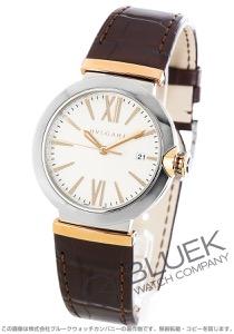 ブルガリ ルチェア アリゲーターレザー 腕時計 メンズ BVLGARI LU40C6SSPGLD