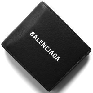 バレンシアガ 二つ折り財布 財布 メンズ レディース エブリディ ブラック 487435 DLQHN 1060 2019年秋冬新作 BALENCIAGA