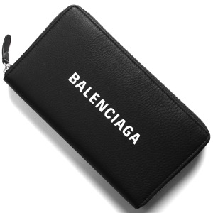 バレンシアガ 長財布 財布 レディース エッセンシャル ブラック 490625 DLQ4N 1000 BALENCIAGA