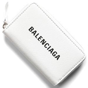 バレンシアガ コインケース【小銭入れ】 財布 メンズ レディース エブリディ ブランホワイト&ブラック 516373 DLQ4N 9060 BALENCIAGA