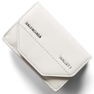 バレンシアガ 三つ折り財布/ミニ財布 財布 レディース ライトグレー 529098 0ST2N 1260 BALENCIAGA