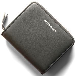 バレンシアガ 二つ折り財布 財布 レディース エブリディ ビルフォールド グリスフォッシルグレー 551933 DLQ0N 1110 BALENCIAGA