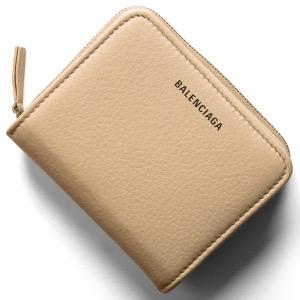 バレンシアガ 二つ折り財布 財布 レディース エブリディ ビルフォールド ベージュタピオカ 551933 DLQ0N 2730 BALENCIAGA