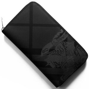 バーバリー 長財布 財布 メンズ レンフルー ロンドンチェック チャコールグレー&ブラック 8006076 A1008 2019年春夏新作 BURBERRY
