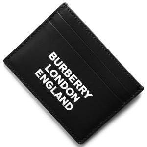 バーバリー クレジットカードケース メンズ サンドン ディアプリント ブラック 8009213 A1189 2019年春夏新作 BURBERRY