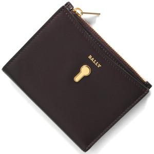バリー 二つ折り財布 財布 レディース コーガン プルーンパープル COGAN W 216 6229905 BALLY
