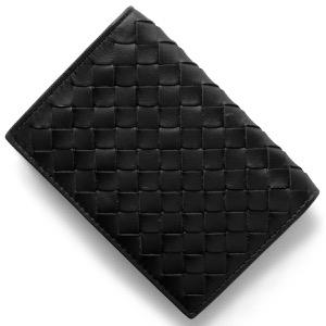 ボッテガヴェネタ カードケース メンズ イントレチャート INTRECCIATO ブラック 120701 V4651 1000 BOTTEGA VENETA