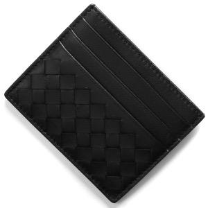 ボッテガヴェネタ (ボッテガ・ヴェネタ) カードケース メンズ イントレチャート ブラック 162150 V001N 1000 BOTTEGA VENETA