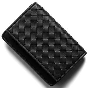ボッテガヴェネタ (ボッテガ・ヴェネタ) カードケース メンズ イントレチャート ブラック 174646 V001N 1000 BOTTEGA VENETA