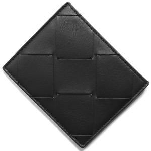 ボッテガヴェネタ (ボッテガ・ヴェネタ) カードケース メンズ イントレチャート ブラック 579246 VO0BI 1000 2019年秋冬新作 BOTTEGA VENETA