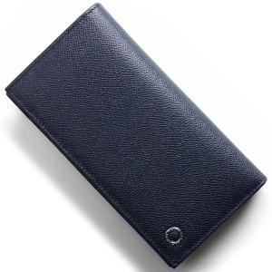ブルガリ 長財布 財布 メンズ ブルガリブルガリ マン レザー デニムブルー 283811 BVLGARI