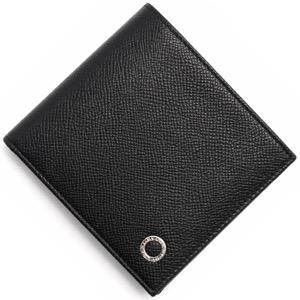 ブルガリ 二つ折り財布 財布 メンズ ブルガリブルガリ マン BB MAN ブラック 30396 BVLGARI