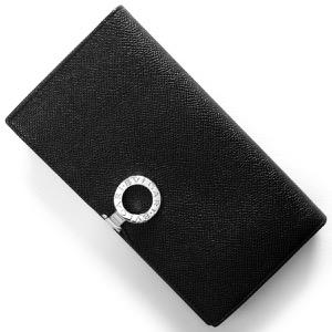 ブルガリ 長財布 財布 メンズ レディース ブルガリブルガリ BB ブラック 33745 BVLGARI