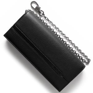 ブルガリ 長財布 財布 メンズ オクト OCTO ブラック 36970 BVLGARI