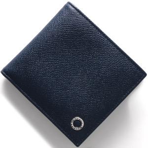 ブルガリ 二つ折り財布 財布 メンズ ブルガリブルガリ マン デニムサファイア 39324 BVLGARI