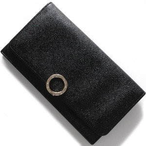 ブルガリ 長財布 財布 メンズ レディース ブルガリブルガリ 【BB】 ブラック 39373 BVLGARI