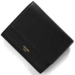 セリーヌ三つ折り財布/ミニ財布 財布 レディース ブラック 10B57 3CQP 38NO