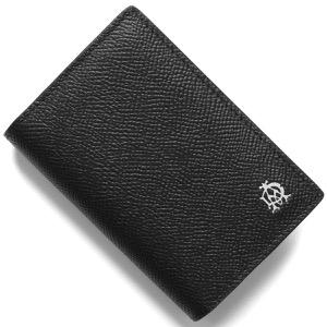 ダンヒル カードケース/名刺入れ メンズ ブラック DU19F2C47CA 001 DUNHILL