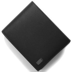 ダンヒル 二つ折り財布 財布 メンズ ブラック DU19F2F32SG 001 DUNHILL