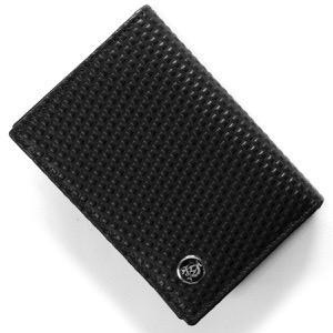 ダンヒル カードケース メンズ マイクロ ディーエイト D-EIGHT ブラック L2V347 A DUNHILL