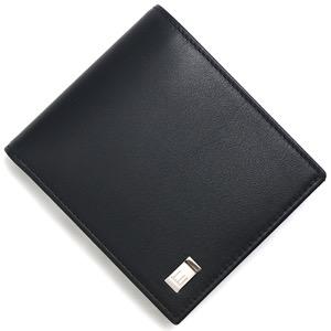 ダンヒル 二つ折り財布 財布 メンズ サイドカー 【SIDECAR】 ブラック QD3070A DUNHILL