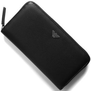 エンポリオアルマーニ 長財布 財布 メンズ ブラック Y4R255 YAQ2E 81072 EMPORIO ARMANI