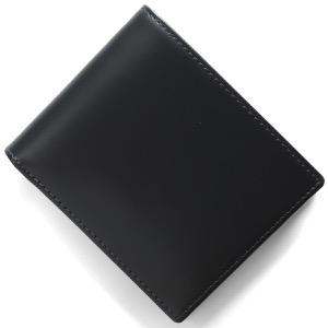 エッティンガー 二つ折り財布【札入れ】 財布 メンズ ブライドル ネイビー&パネルハイドイエロー 030CJR BH NAVY ETTINGER