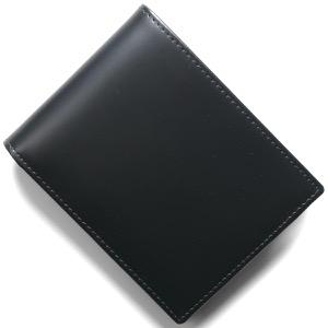 エッティンガー 二つ折り財布 財布 メンズ ブライドル ネイビー&パネルハイドイエロー 141JR BH NAVY ETTINGER