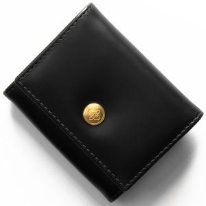 エッティンガー コインケース【小銭入れ】 財布 メンズ ブライドル ブラック&パネルハイドイエロー 145JR BH BLACK ETTINGER