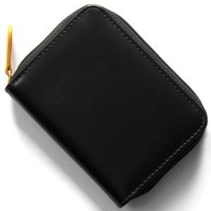 エッティンガー コインケース【小銭入れ】 財布 メンズ ブライドル ブラック&パネルハイドイエロー 2050JR BH BLACK ETTINGER