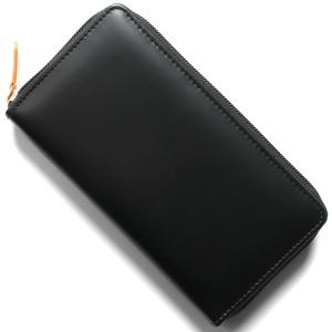 エッティンガー 長財布 財布 メンズ ブライドル ブラック&パネルハイドイエロー 2051JR BH BLACK ETTINGER
