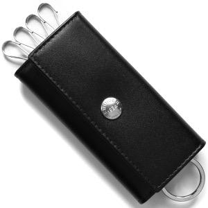 エッティンガー キーケース メンズ スターリング ブラック&パープル 840AJR ST PURPLE ETTINGER
