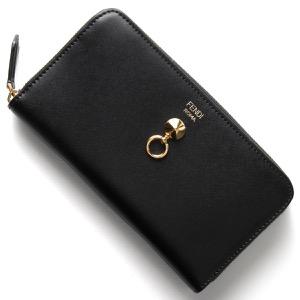 フェンディ 長財布 財布 レディース バイザウェイ ブラック 8M0299 SME F0KUR FENDI