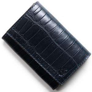 フェリージ カードケース/名刺入れ メンズ レディース ネイビーブルー 450 SA 0005 FELISI