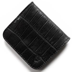 フェリージ コインケース【小銭入れ】 財布 メンズ クロコ型押し ブラック 914 SA 0003 FELISI
