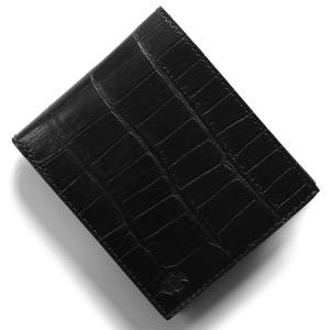 フェリージ 二つ折り財布 財布 メンズ クロコ型押し ブラック 952 SA 0003 2019年秋冬新作 FELISI