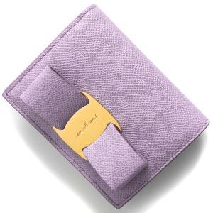 フェラガモ 二つ折り財布/ミニ財布 財布 レディース ヴァラ リボン スプリングクロッカスパープル 22D515 SPRING CROCUS 0746710 SALVATORE FERRAGAMO