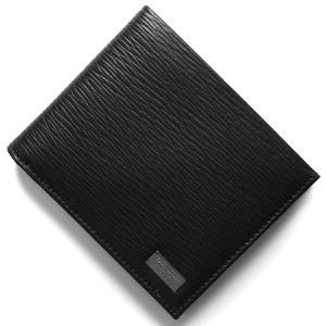 フェラガモ 二つ折り財布 財布 メンズ リバイバル ブラック 667070 NERO 0351306 2019年春夏新作 SALVATORE FERRAGAMO