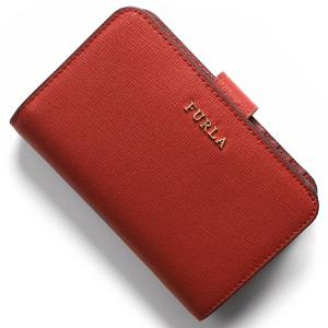 フルラ 二つ折り財布 財布 レディース バビロン ヴェルミリオレッド PR85 B30 ASF 1000222 FURLA
