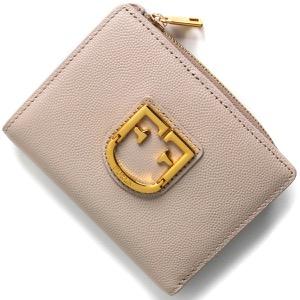 フルラ 二つ折り財布 財布 レディース ベルヴェデーレ スモール ダリアピンクベージュ PBO5 Q26 TUK 1023251 FURLA