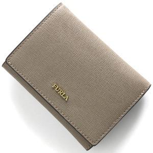 フルラ 三つ折り財布/ミニ財布 財布 レディース バビロン スモール サッビアグレー PBP2 B30 SBB 1023475 FURLA